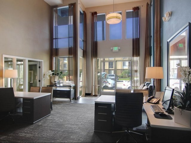 Covina Grand Apartments for Rent in CA - Covina Grand Lobby