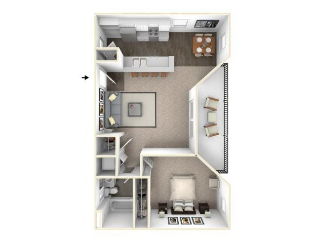 A1 RENOVATED Floor Plan 4
