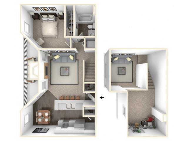 A3 Loft Floor Plan 3