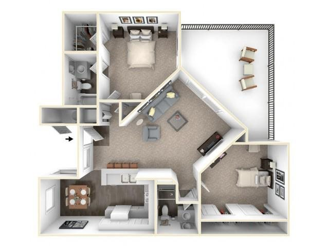 B2 Floor Plan 8