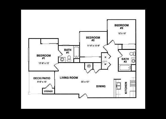 Plan B floor plan.