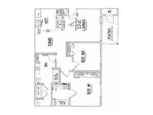 2x2 floor plan.