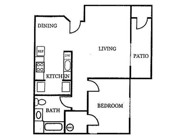 Plan A floor plan.