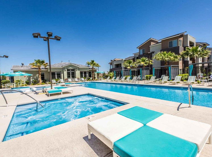 The Gallery | Las Vegas |Pool Deck