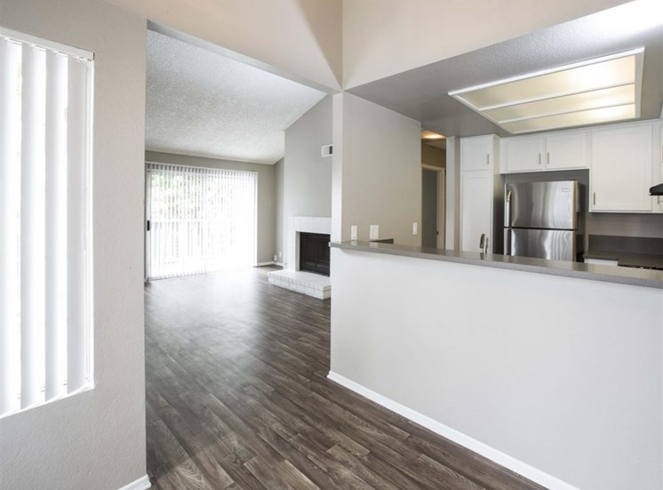 Kitchen and Living room Harborview Apt Homes for rent in San Pedro ca