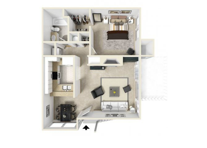 one bedroom apartments for rent in 90723