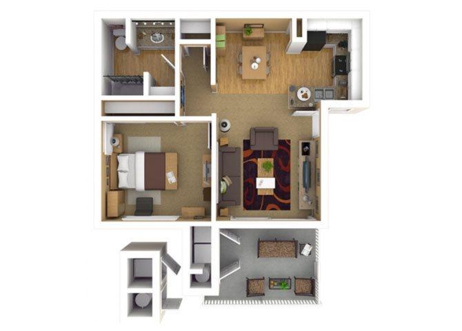 RESIDENCE 1 Floor Plan 2