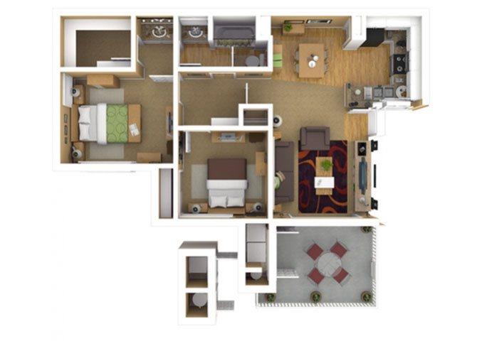RESIDENCE 2 Floor Plan 4