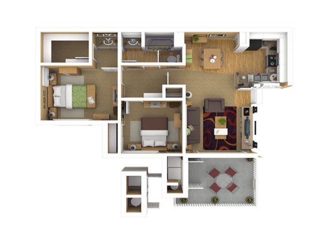 RESIDENCE 2 Floor Plan 5