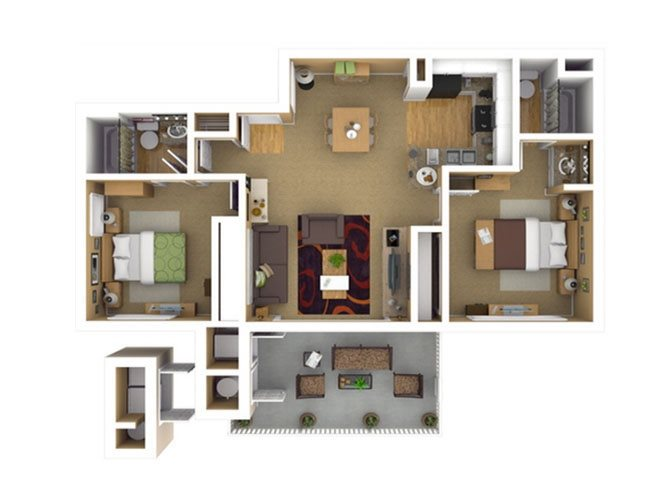 RESIDENCE 3 Floor Plan 6