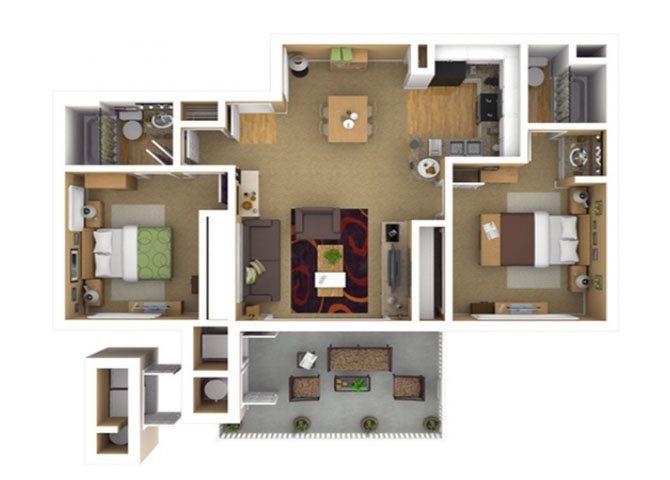 RESIDENCE 3 Floor Plan 7