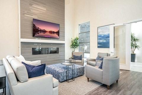 Hub Apartments | Folsom CA |Clubhouse