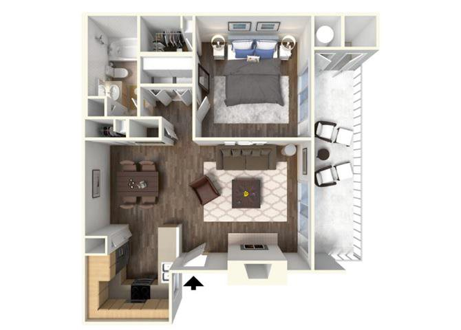 The Cherry floor plan.