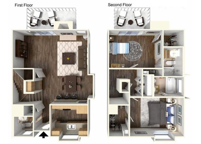 The WIllow floor plan.