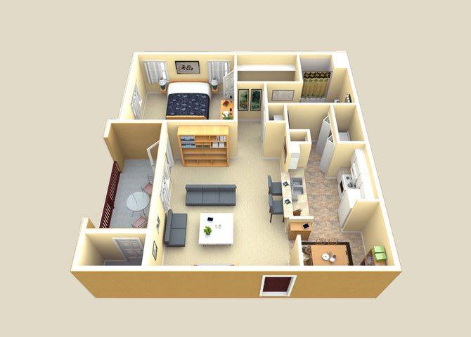 the Sienna floor plan