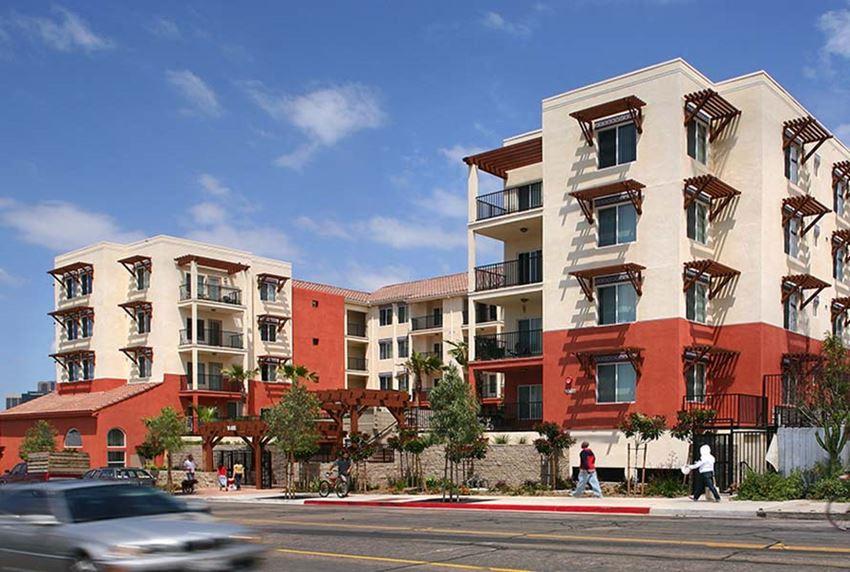 Street View of Community l Los Vientos Apartments in San Diego CA
