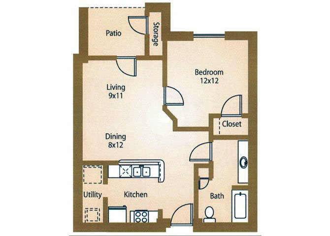 the A1 Miami floor plan