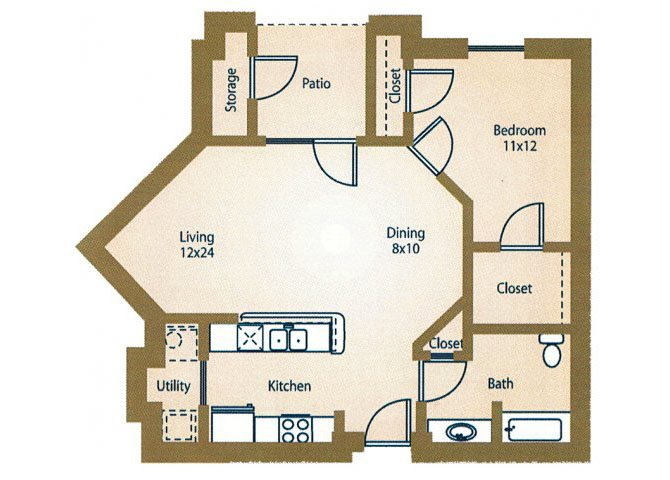 the A2 Savannah floor plan
