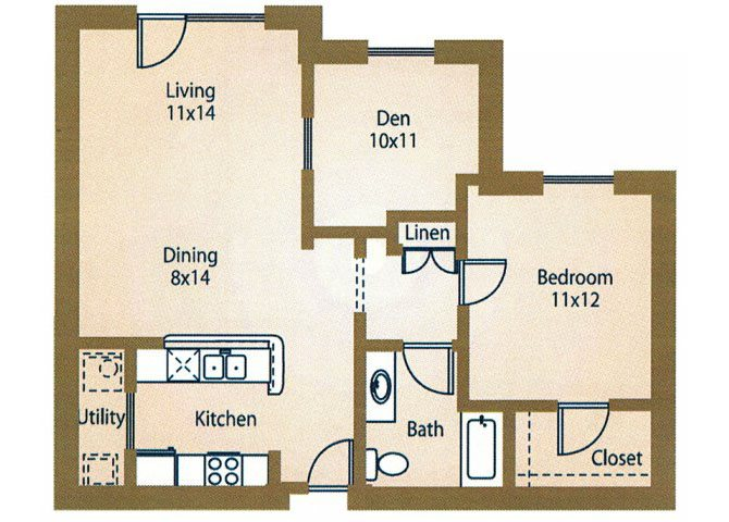 the A4 Providence floor plan