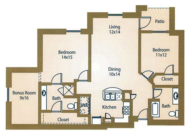 the B4 Hampton floor plan