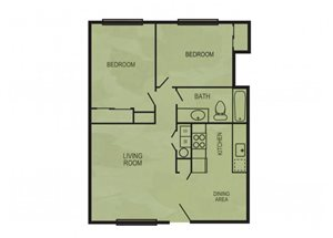 The Ladera floor plan.