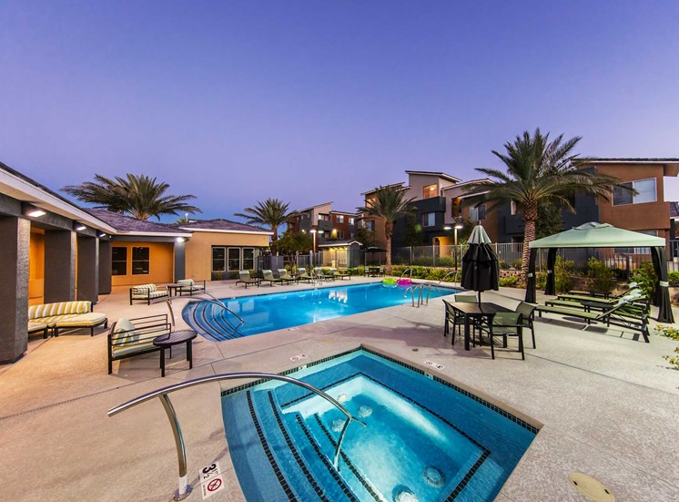 Martin Apartments | Las Vegas |Pool and Spa