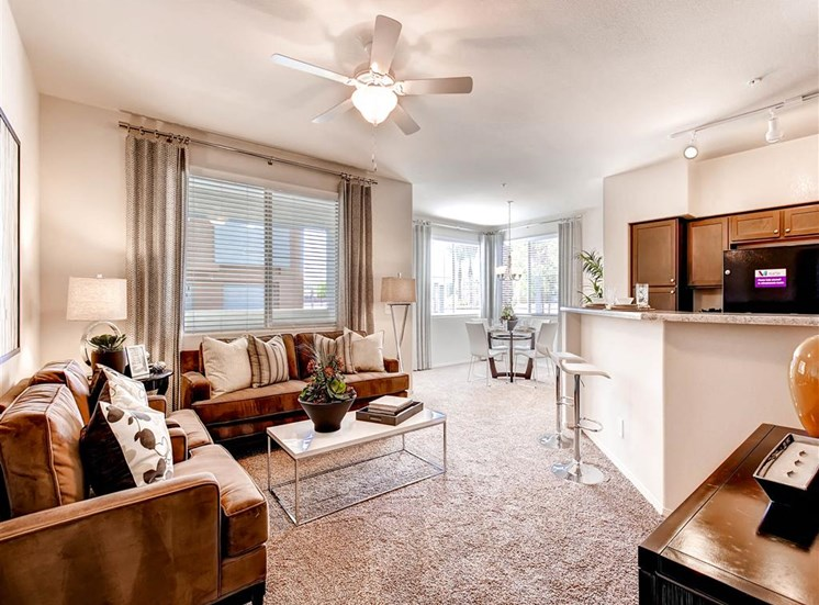 Martin Apartments | Las Vegas | Living Area