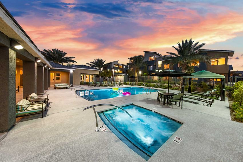 Martin Apartments | Las Vegas | Spa
