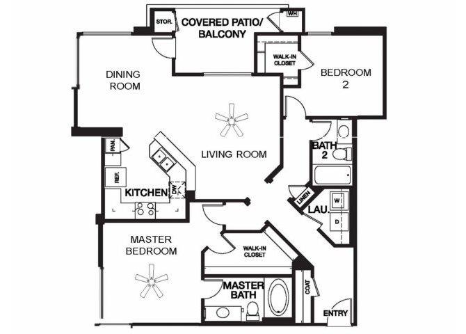 Avalon floor plan.
