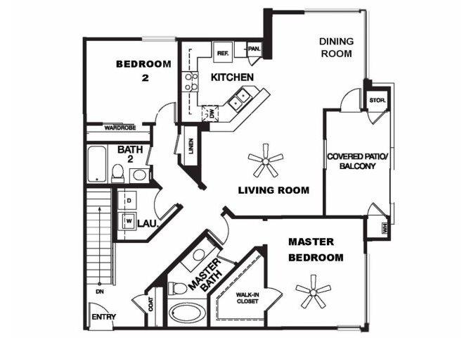 Carson floor plan.