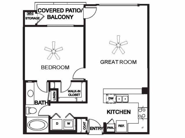 Chaparral floor plan.