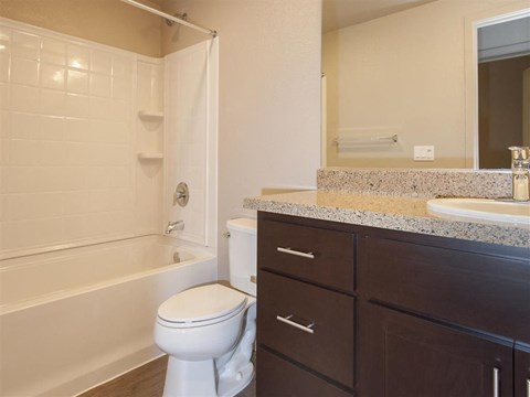 Downtown Oakland, CA Apartments for Rent - Mason at Hives Apartments Bathroom