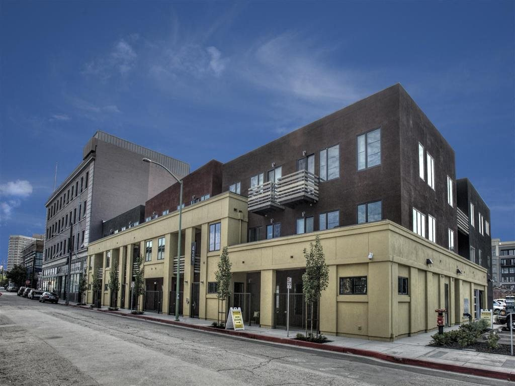 Apartments for Rent in Downtown Oakland, CA - Mason at Hives Apartments Front Building