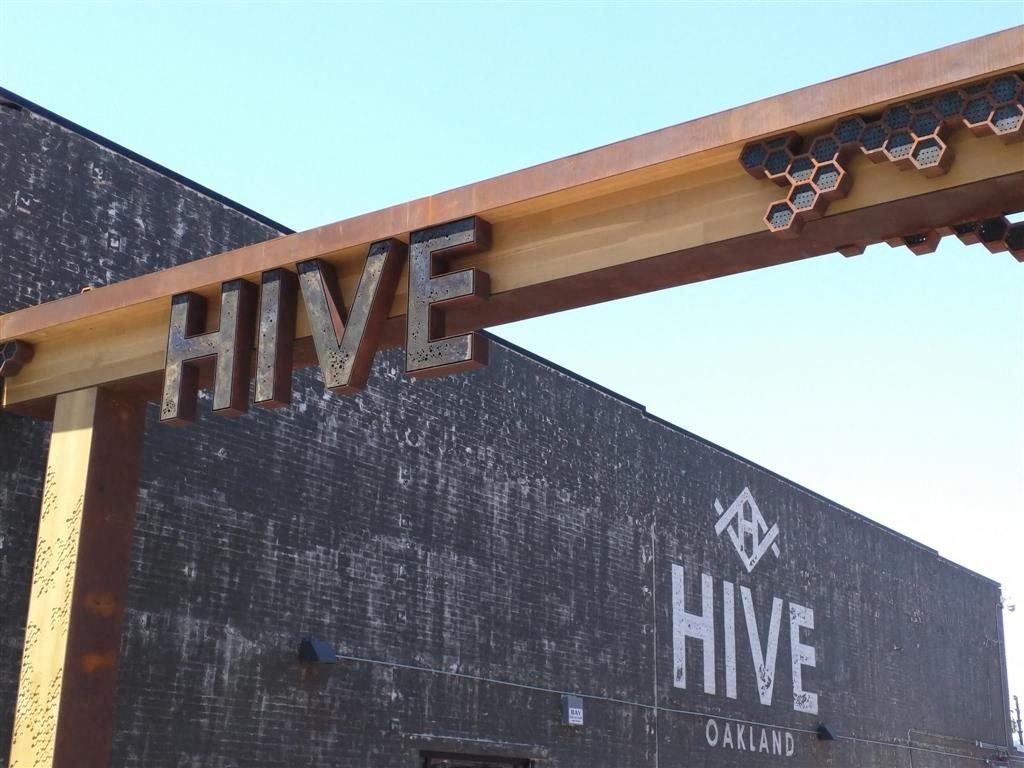Hive Sign Brand New Apartments for Rent | Mason at Hive Apartments in Oakland, CA Now Leasing