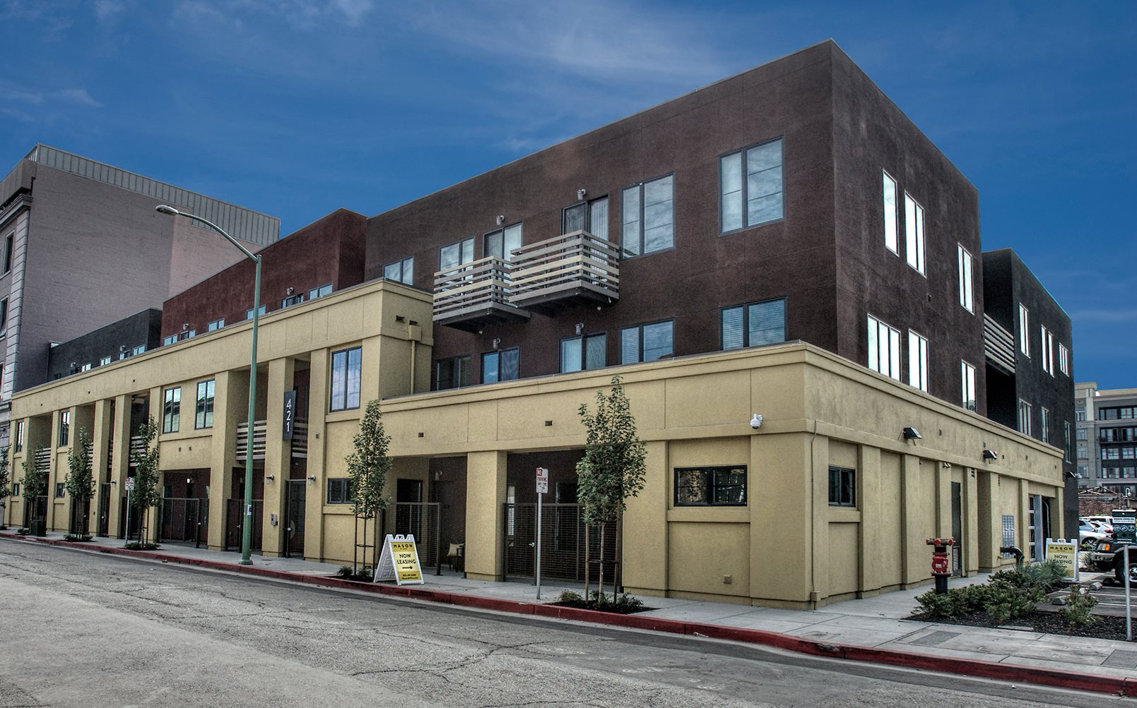 Downtown oakland apartments for rent mason at hive - 2 bedroom apartments for rent in oakland ca ...