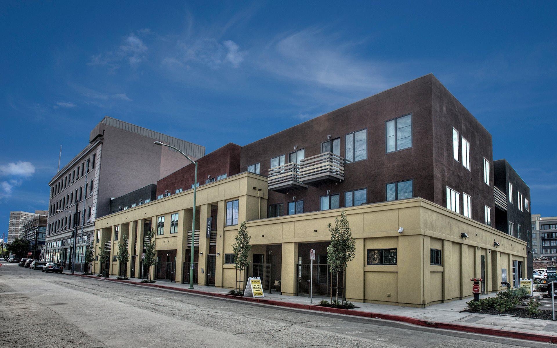 Apartments In Downtown Oakland Ca Mason At Hive Apts
