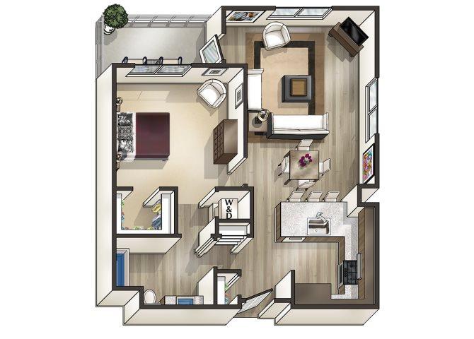 Floor 1 Floor Plan 1