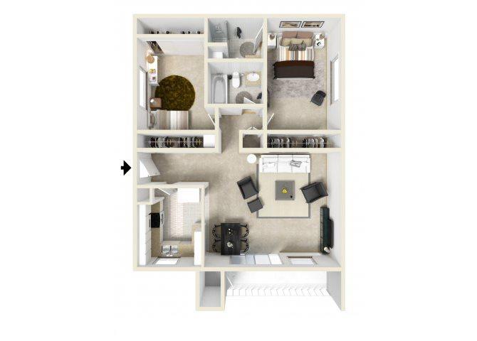 C Floor Plan 3