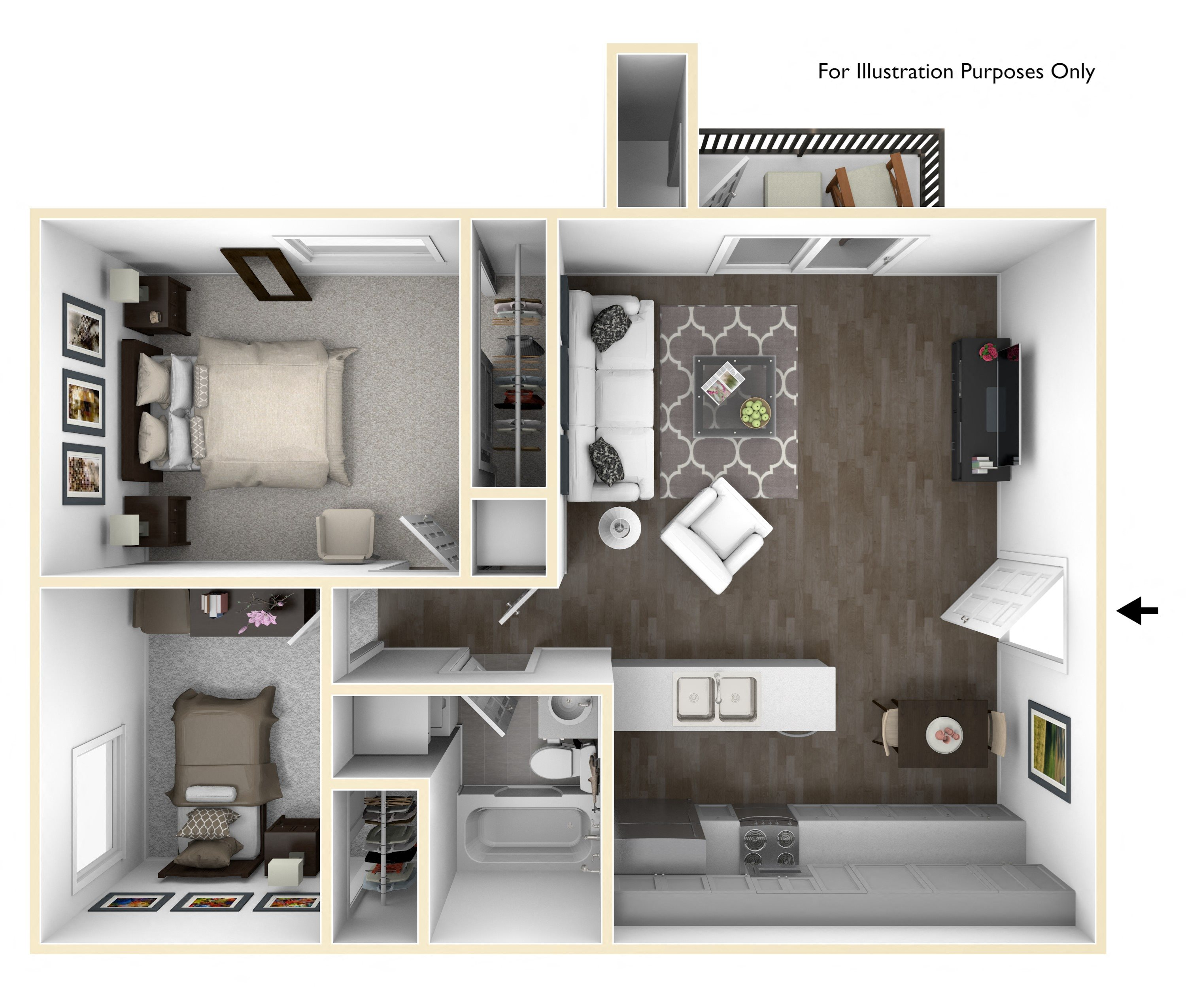 Available 3 Bedroom Apartments: 1 To 3 Bedroom Apartments In Sacramento