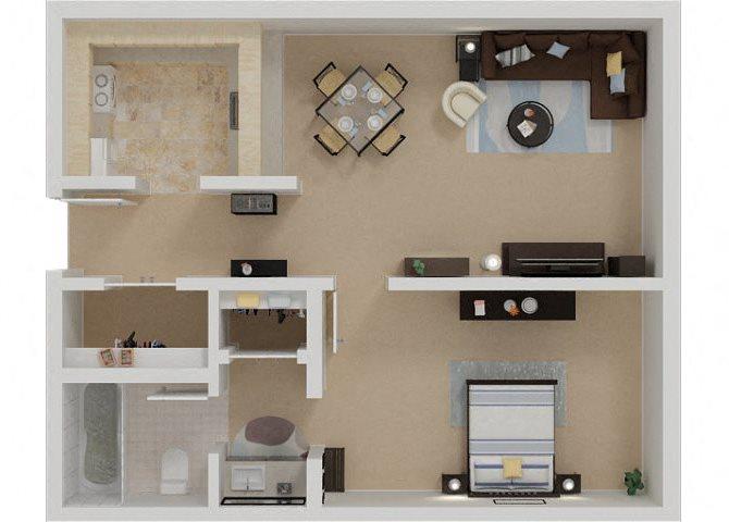 One Bedroom Apartments in Santa Rosa, Ca l Parc Station Apartments