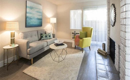 Dog Friendly Apartments in Garden Grove, CA - Park Grove Apartments Living Room