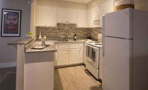 Garden Grove, CA Apartments for Rent - Park Grove Apartments Kitchen