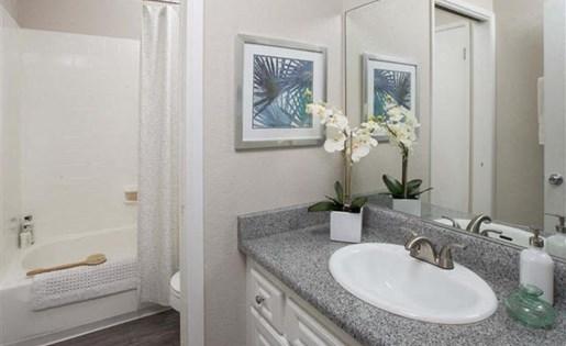 Park Grove Apartments in Garden Grove, CA - Bathroom