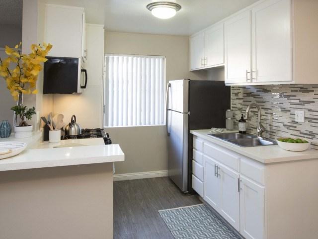 Pet-Friendly Apartments for Rent in El Monte, CA - The Parker Kitchen
