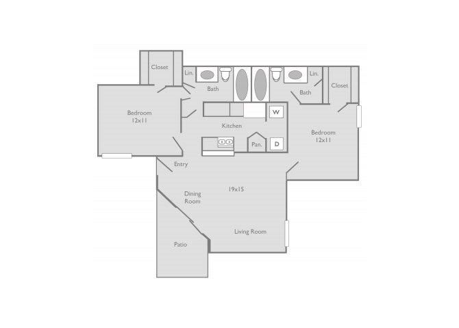 the B3 floor plan