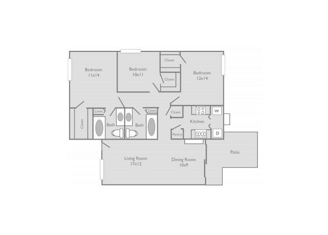 the C1 floor plan