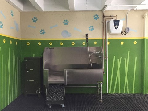 dog wash area l Ryan Tower Apartments in San Mateo CA