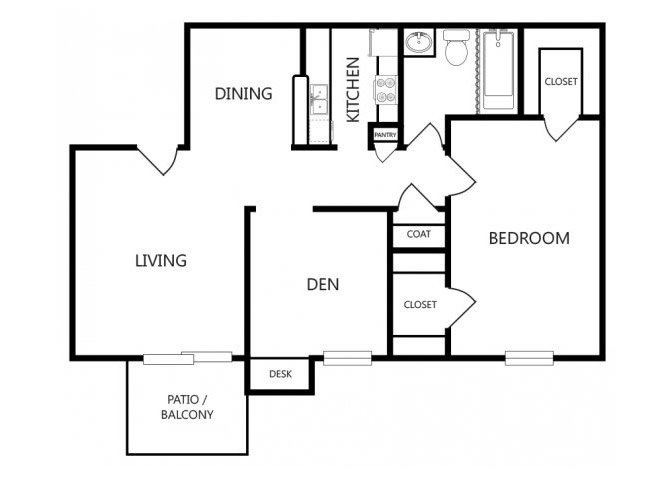 the A3 floor plan