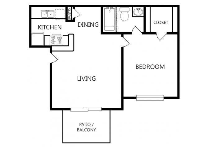 the J1 floor plan