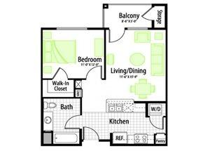 Aurora floor plan.